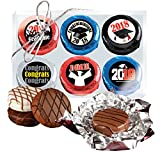 GRADUATION -COOKIE TALK CHOCOLATE COVERED OREOS - 6 PACK
