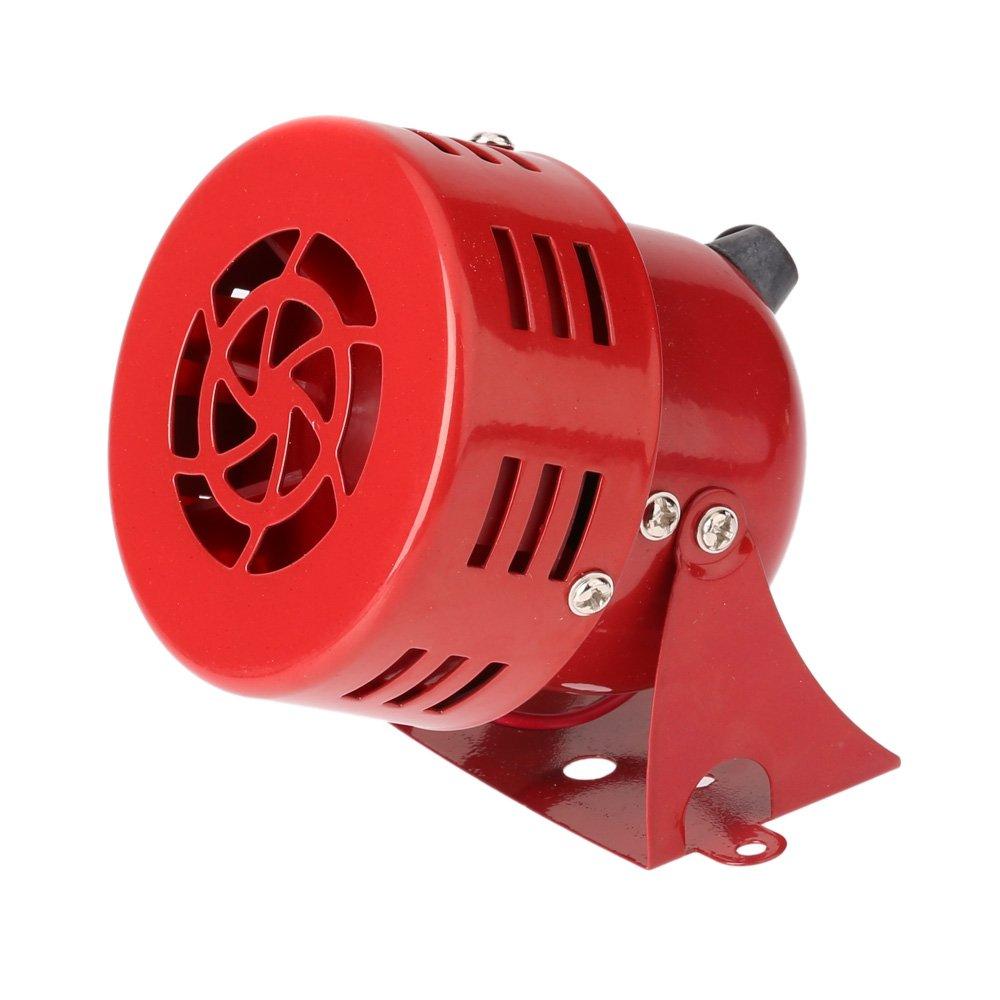 KKMOON 12V 3 Raid automobile Air Sir/ène Corne de camion de voiture Motor Driven Alarme Rouge