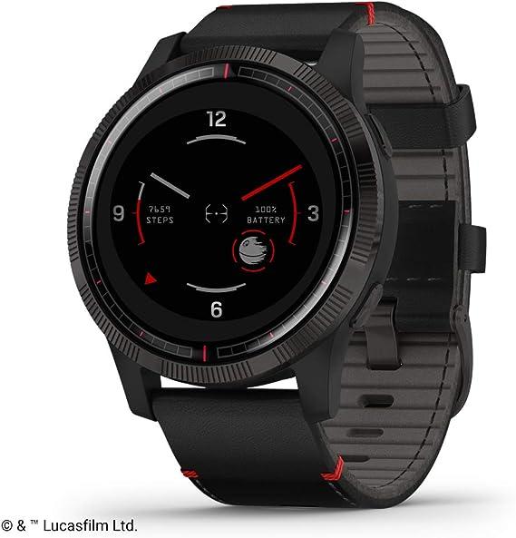 Garmin Legacy Saga Series, Star Wars Darth Vader Inspired Premium Smartwatch, Includes a Darth Vader Inspired App Experience
