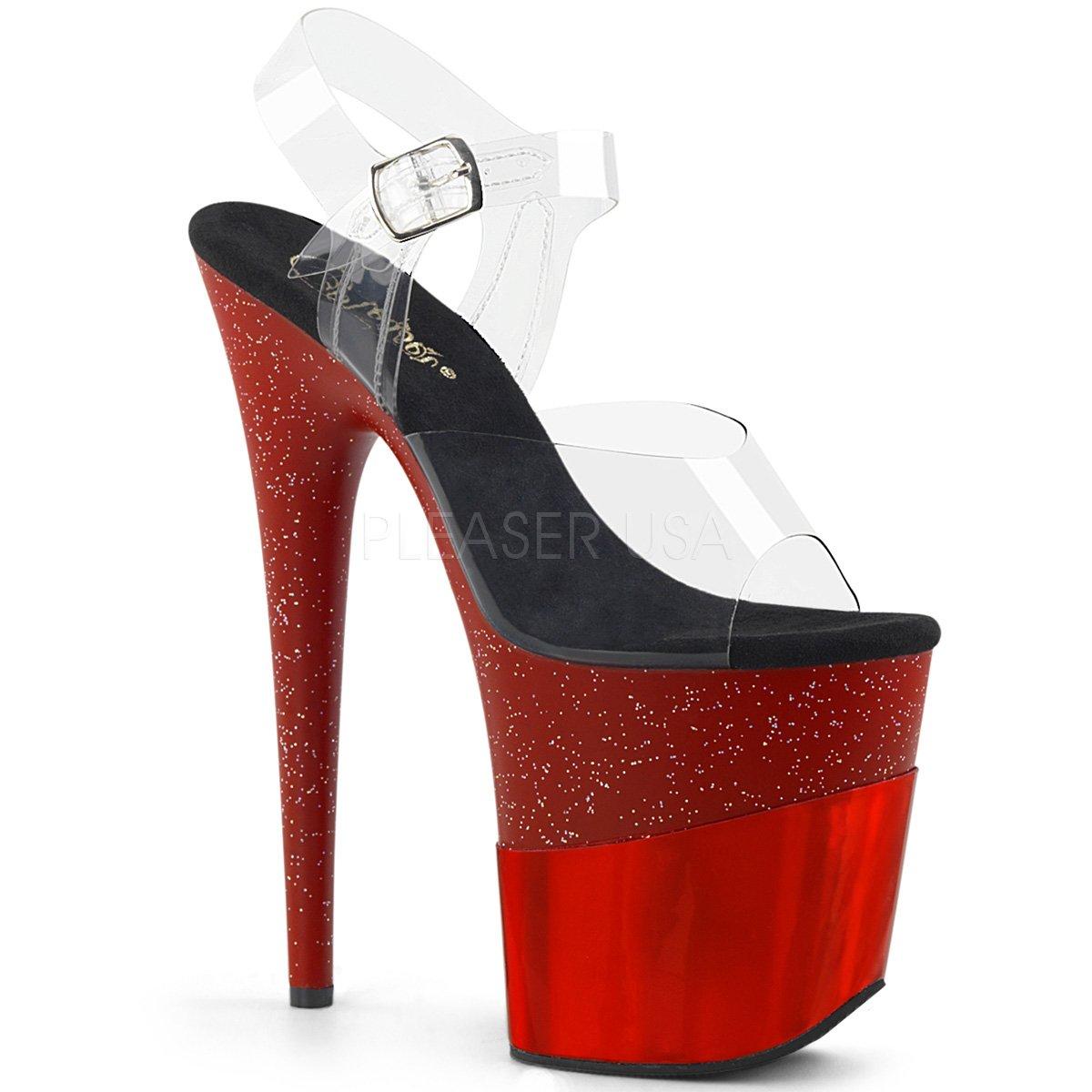 Pleaser Womens FLAMINGO-808-2HGM/C/RGHG Sandals