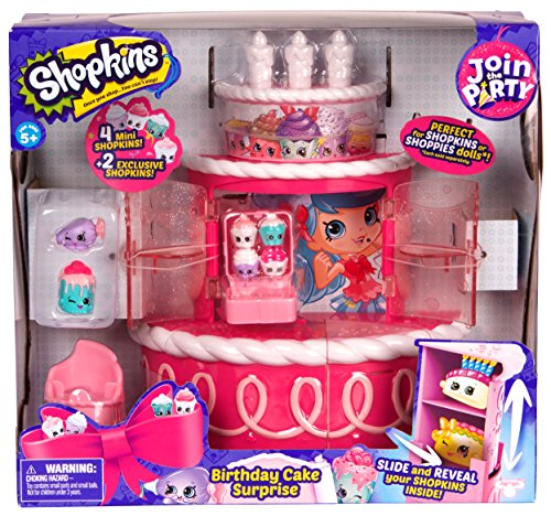 Shopkins Join the Party Playset - Birthday Cake Surprise by Shopkins