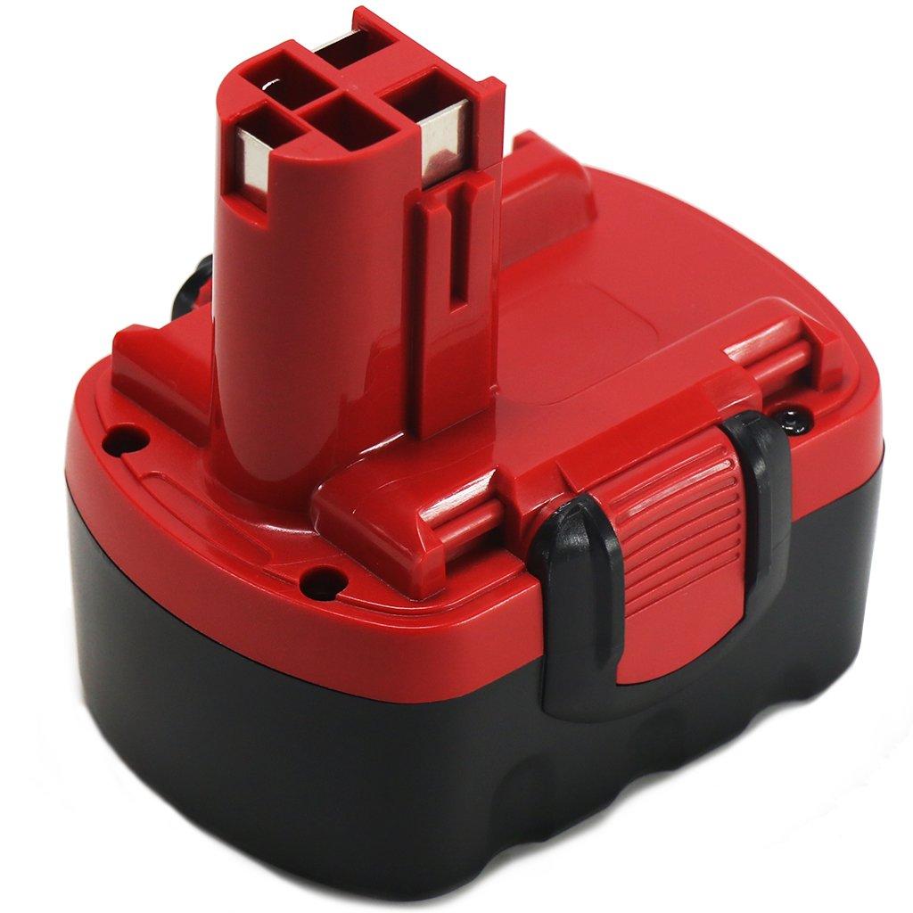 PSR18 18V 3.0Ah NIMH Battery for Bosch 18V Battery BAT025, BAT026, BAT160, BAT180, BAT181, BAT189, BAT299, PSB18VE-2, PSB18, PSB18VE-2, PSR18VE-2, PSR180, 2 607 335 265 POWERAXIS