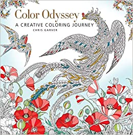 Amazon Color Odyssey A Creative Coloring Journey 9781942021971 Chris Garver Books