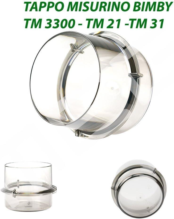 tm_versand Tapón medidor para Thermomix Tm21, Tm31, Tm3300