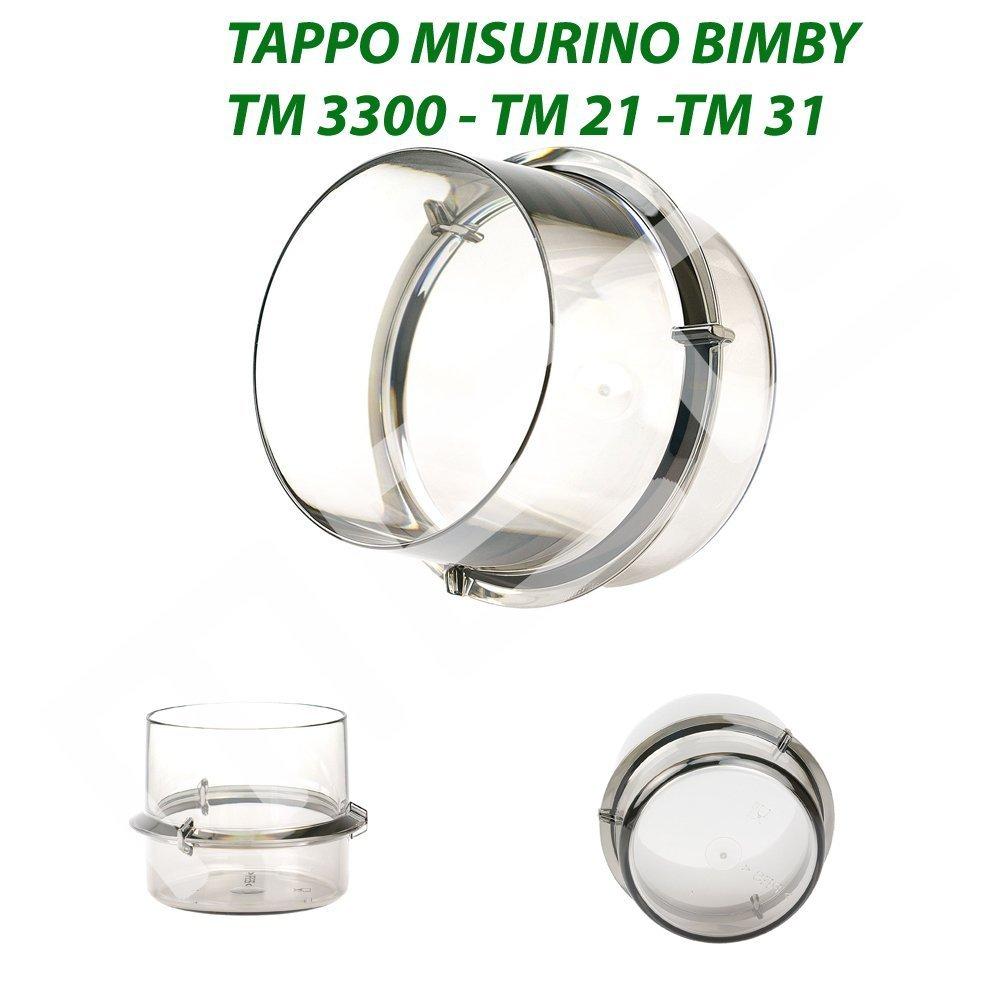 Messbecher passend u geeignet für Thermomix TM31 Rühraufsatz,Spatel,Dichtung u