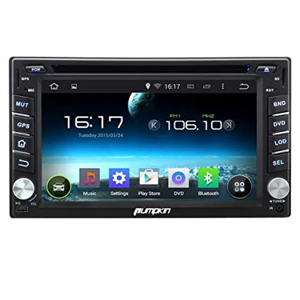 Amazon pumpkin android 444 kitkat car dvd player 62 inch pumpkin android 444 kitkat car dvd player 62 inch double din in dash capacitive asfbconference2016 Gallery