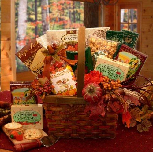Fall Sampler Gourmet Thanksgiving Gift Basket