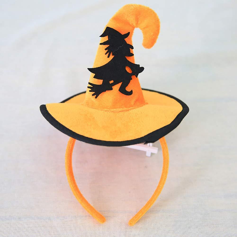 Mother & Kids Hair Accessories The Best 2018 Hot Halloween Decoration Witch Pumpkin Bat Spider Headband Kids Hairband Party Hat