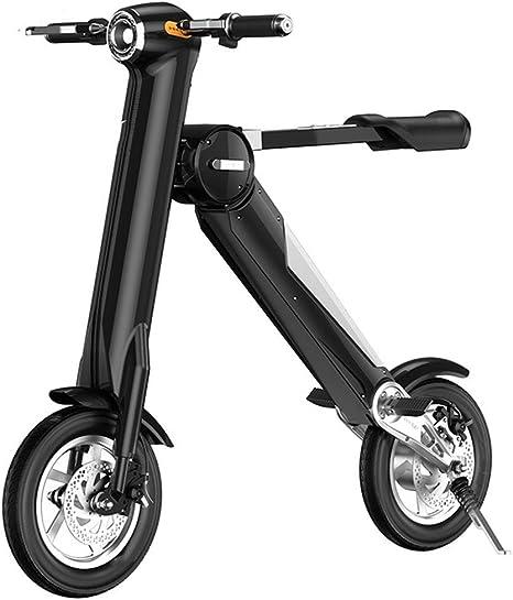 ZLI De Las Mujeres Mini Bicicleta eléctrica, Adulto Bicicleta ...