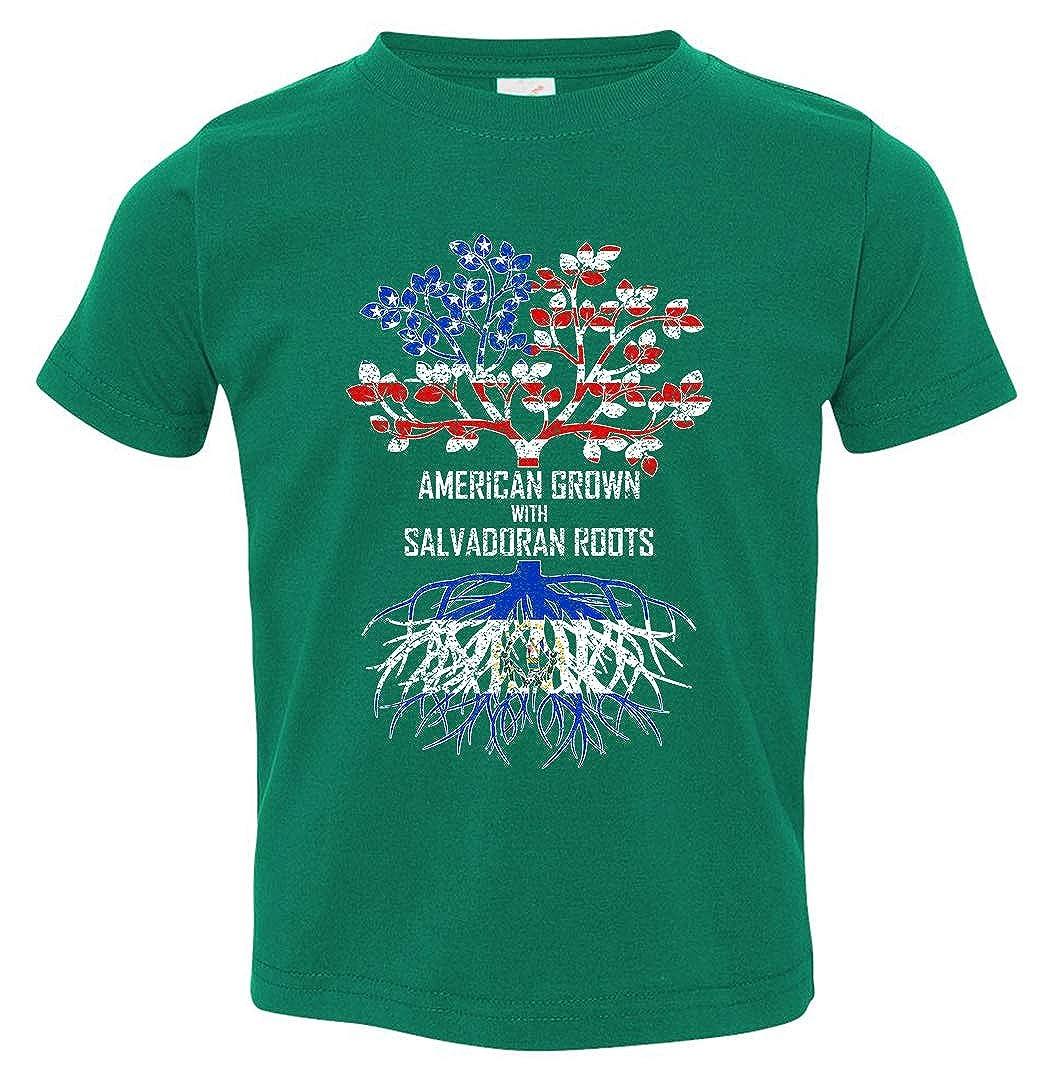 Tenacitee Babys American Grown with Salvadoran Roots Shirt