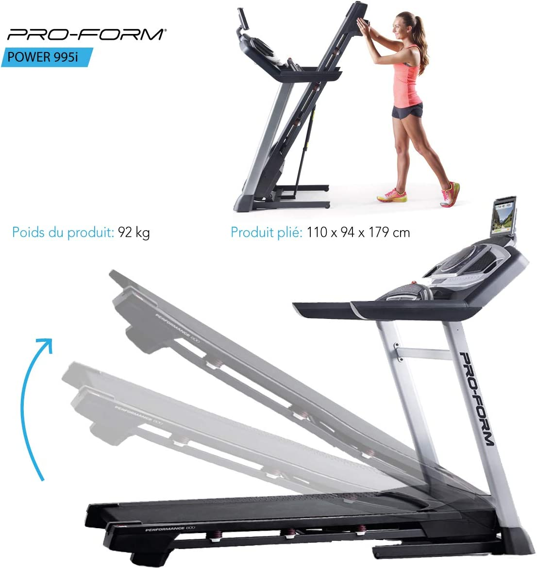 ProForm - Cinta de Correr Power 995i: Amazon.es: Deportes y aire libre