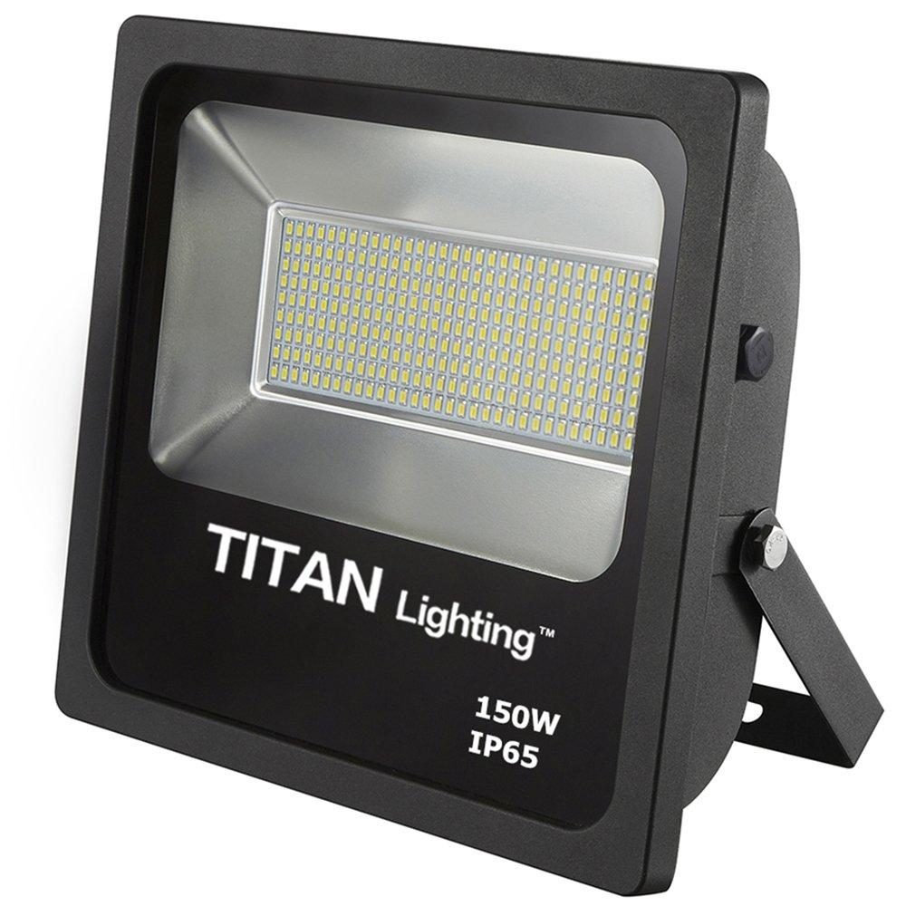 Titan Lighting Bronze 150W Led Flood Lights, 250W HPS/HID Replacement, 12750LM, 6000K Day Light, Waterproof, 120-277V, Instant on