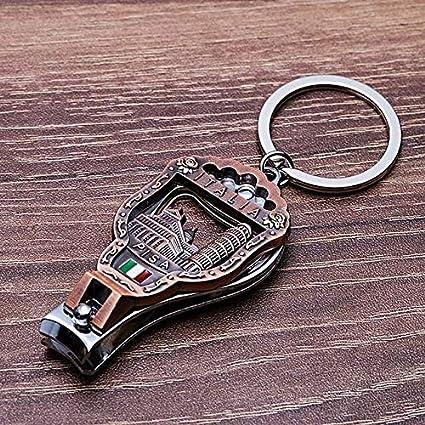 Vicney El más Nuevo Italia Vintage Nail Clipper Llavero 3D ...