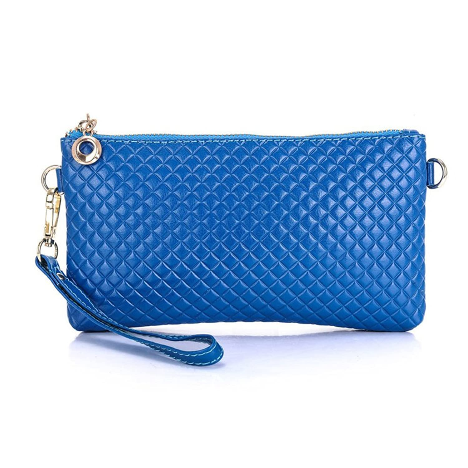Lady diamond leather purse/ wallet clutch bag/The Korean version of the mass women's hand bags