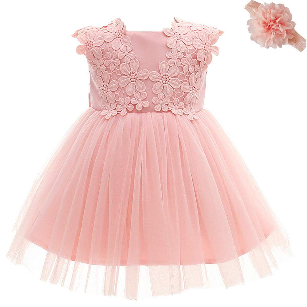 Baby Girl Dress Princess Wedding Birthday Baptism Dress ZHHT370