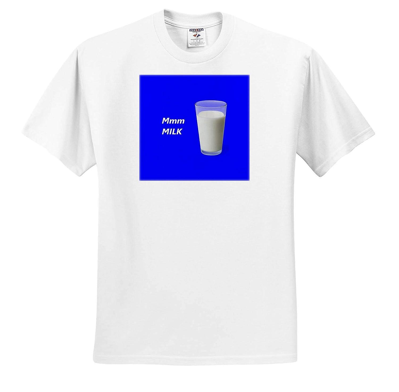 ts/_317415 3dRose Kultjers Fun Mmm Milk Adult T-Shirt XL