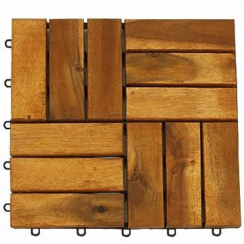 ジョイント式 Liebe 人工木 ダークブラウン ウッドパネル 『クレアーレST2』 54枚入り 【リーベ】