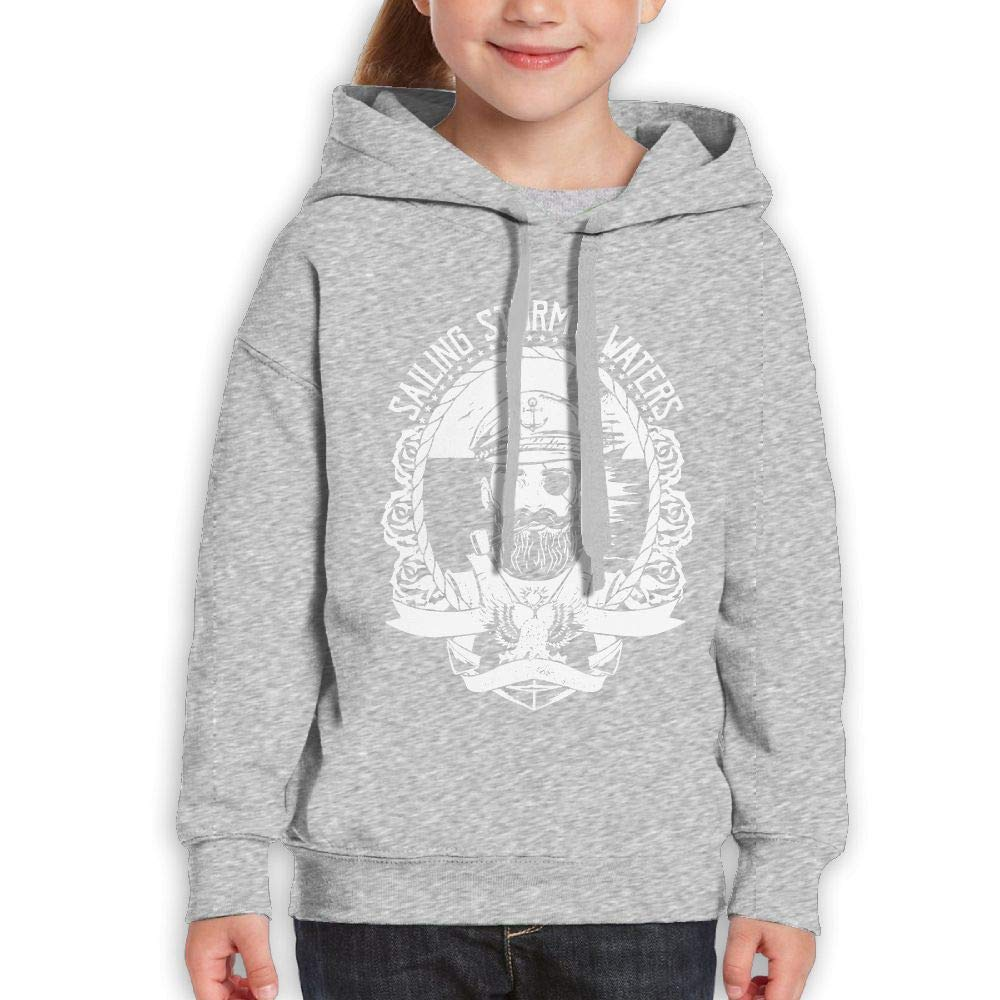 Yishuo Teen Boys Limited Edition Leisure Travel Sweater L Ash