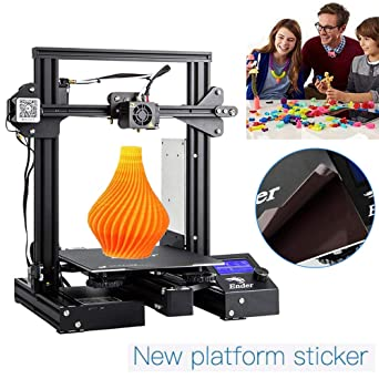 Creality Ender 3 Pro Impresora 3D DIY Prusa I3 Creative Upgraded ...