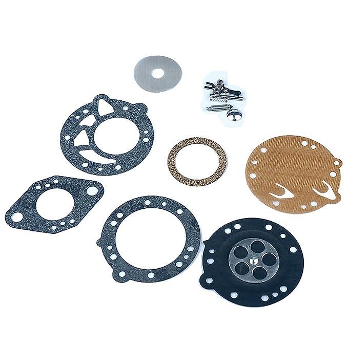 HIPA Kit Joints et Membranes RK-83HL pour Tronçonneuse Tillotson HL-293B HL-293C HL-293E HL-293F HL-314G HL-323A STIHL 08 070 090 TS350 TS360