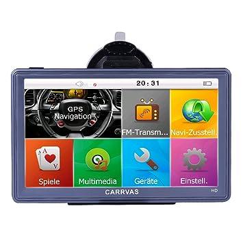 Navegador GPS para Camión de 7 Pulgadas 8GB HD GPS Electrónico para Coche Europeo (Blue): Amazon.es: Electrónica