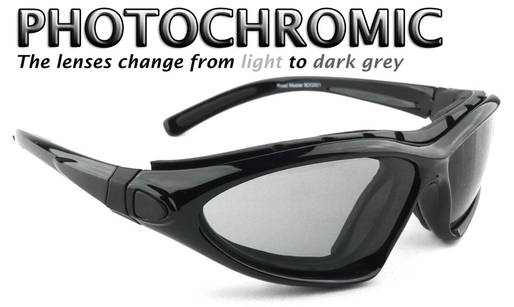Bobster Roadmaster - Gafas de lentes de gafas de sol - photochomic: Amazon.es: Coche y moto