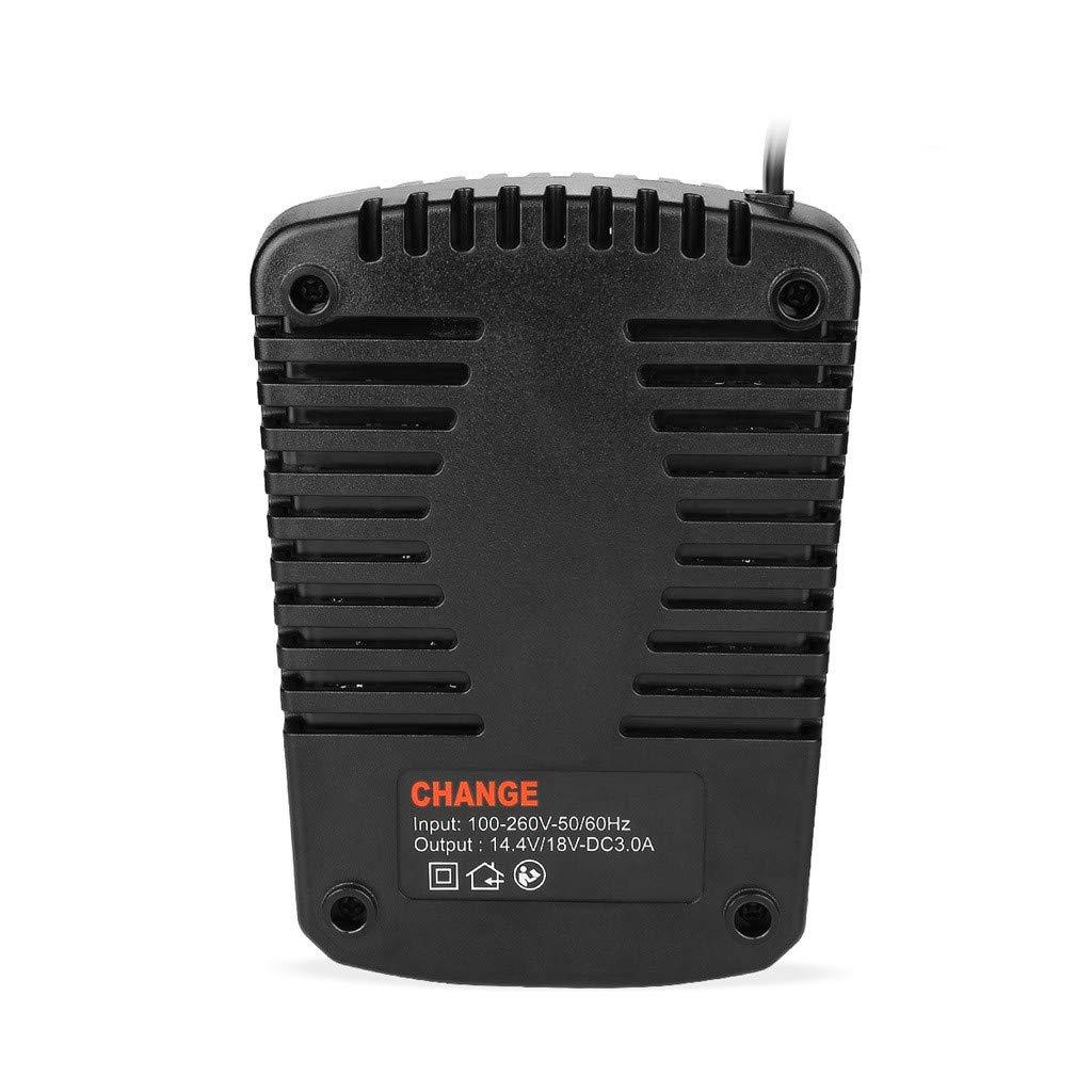 Bosch Chargeur de Batterie Li-ION pour Batterie Bosch 14.4V 18V DC 3.0 A Bat609 Bat609G Bat618 Bat618G Chargeur Al1860Cv Al1814Cv Al1820Cv,Prise Europ/éenne With LED Indicator