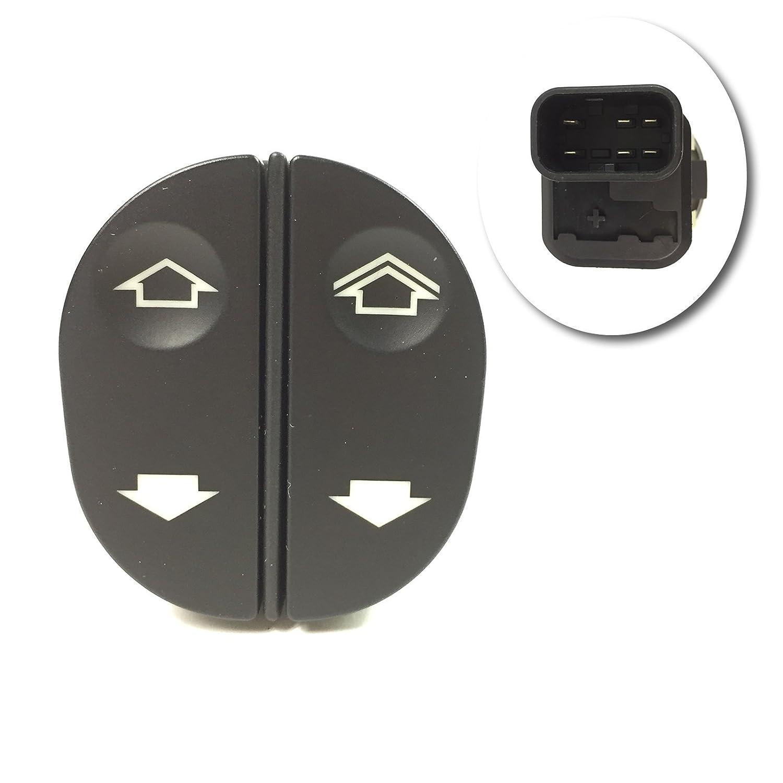 6 PIN ELECTRIC WINDOW CONTROL SWITCH, 1459686 SOLARIS