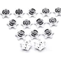 Outtybrave 14Pcs Golf Shoes Spikes Stinger Easy Replacement Fast Twist Spikes Cleats