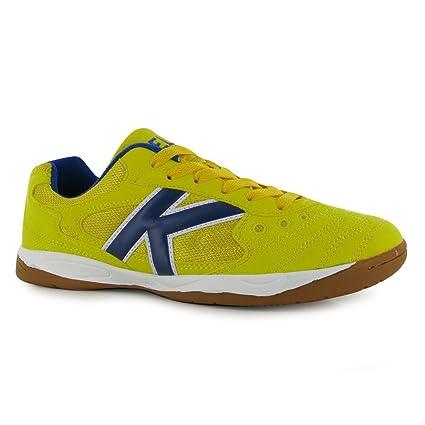 4509014de32 KELME Copa Indoor Football Futsal Trainers Mens Yellow Soccer 5 A-Side  Sneakers (UK6
