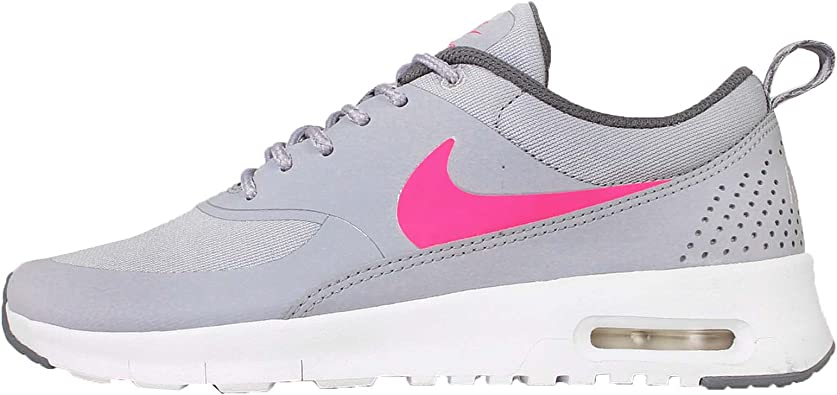 tubo horario domesticar  Amazon.com: Nike Kids Air Max Thea GS, WOLF GREY/HYPER PINK-COOL GREY,  Youth Size 6.5: Shoes