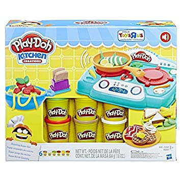 Genial Play Doh Kitchen Creations Stovetop Super Set With Sizzlinu0027 Sounds  Exclusive Playset