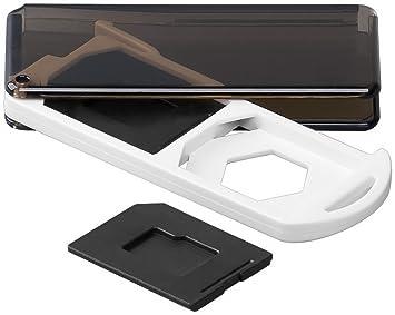 Caja para tarjetas de memoria 2 x Tarjeta SD: Amazon.es ...