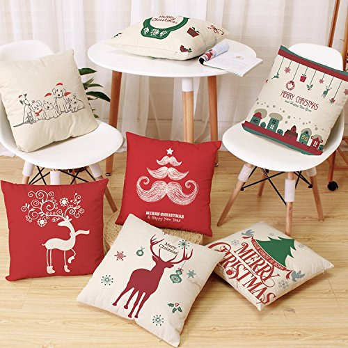 Beautiful Christmas Pillow Cases.