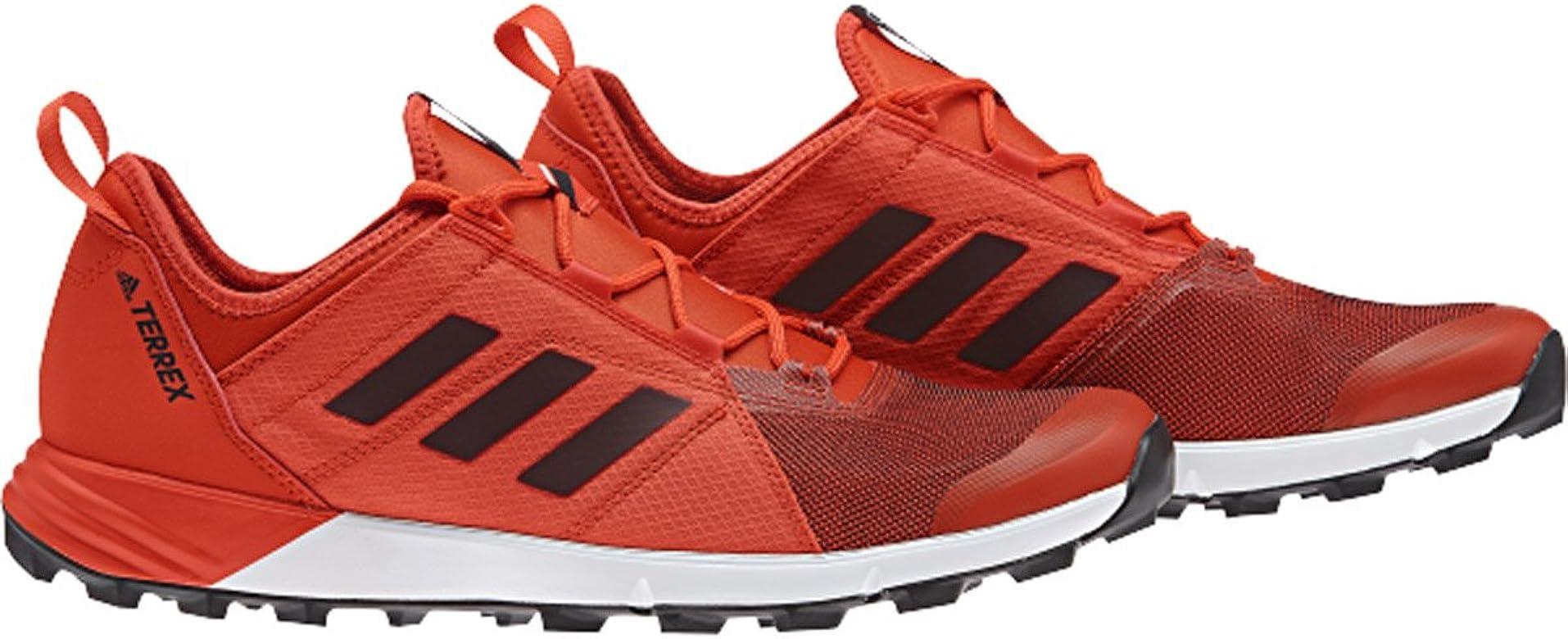 Reposición técnico Hacer las tareas domésticas  Amazon.com | Adidas Sport Performance Mens Terrex Agravic Speed Athletic  Sneakers, Red Textile, Rubber, 10 M | Trail Running