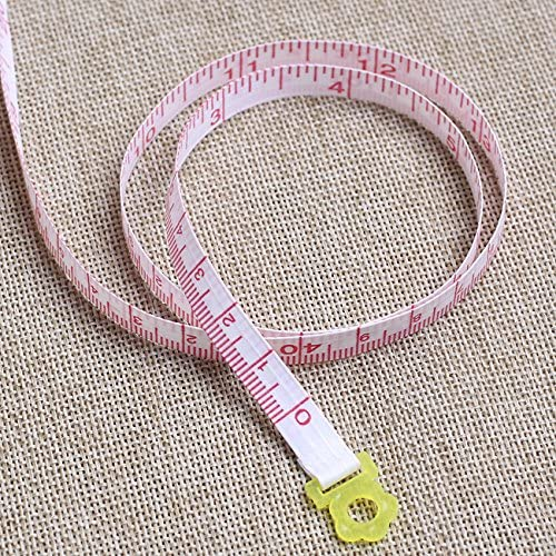 60 inches Tape Measure for Body Measurements Cute Blue Chick Shape Retractable Dual Sided Inch and Centimeter for Sewing Tailor 150cm TPPR09469