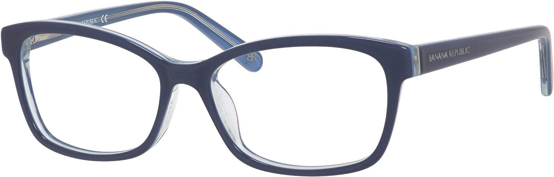 BANANA REPUBLIC 01U1 Navy Crystal Eyeglasses