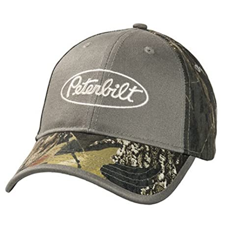 448070da8 Amazon.com: BD&A Peterbilt Trucks Mossy Oak Break-Up Camo Hat/Cap: Sports &  Outdoors