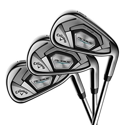 amazon com callaway golf 2018 men s rogue irons set set of 7