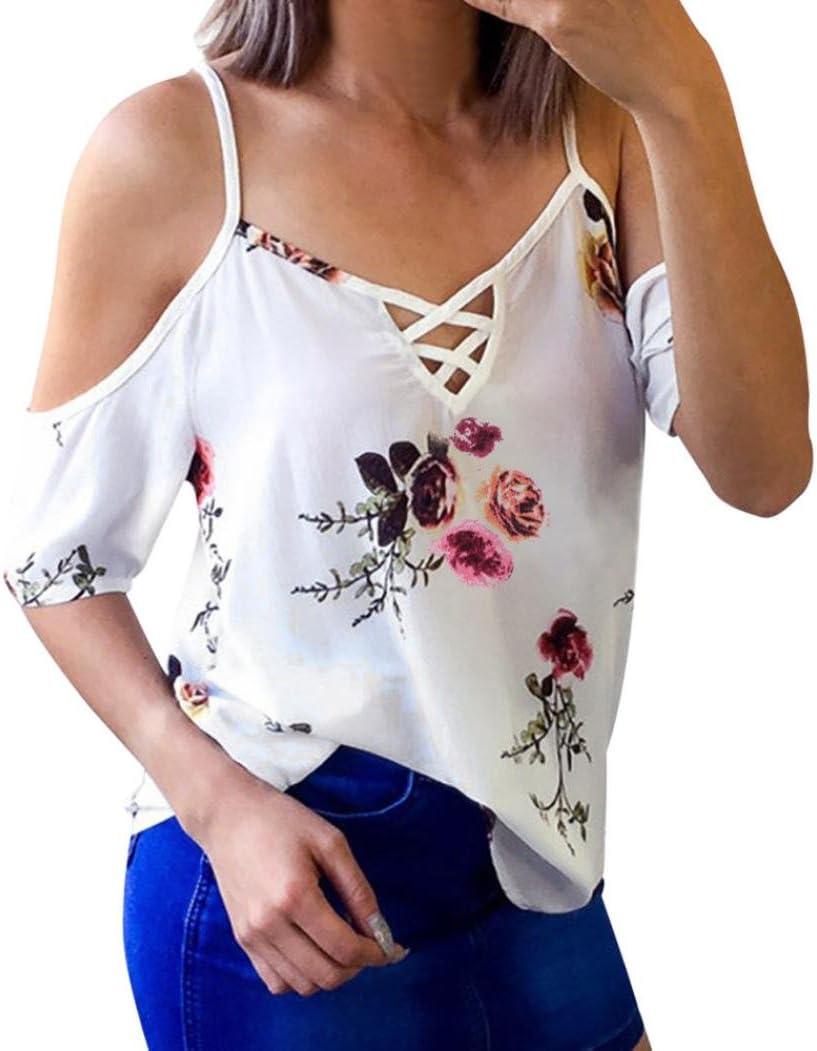 Women new tops shirt Lady/'s summer blouse floral fashion casual chiffon t-shirt