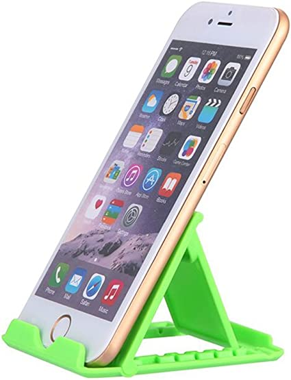 Soporte de Tablet, Multi-ángulo de Soporte portátil Plegable Escritorio de Goma Soporte foldstand para Smartphone, y iPhone se/6S/6S Plus, Samsung Galaxy Nota 7/S7/S7 Edge: Amazon.es: Electrónica