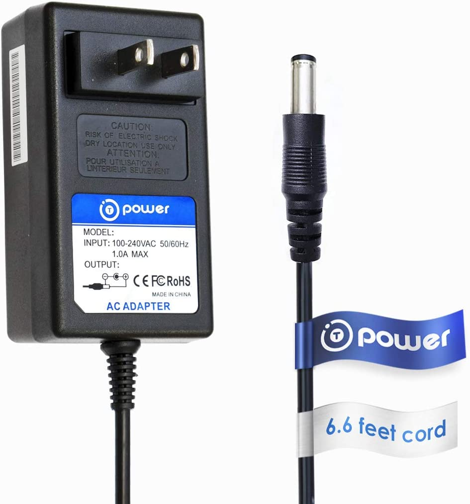 T POWER (6.6 feet) Compatible with Silk'n Flash & Go,Silk'n Glide Silk'n Blue Acne Solution Device Laser Hair Removal System Model: 87046 Replacement Ac Dc Adapter Switching Power Supply Cord Charger