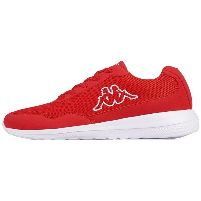 Kappa Follow Sneakers Damen Herren Unisex Rot/Weiß