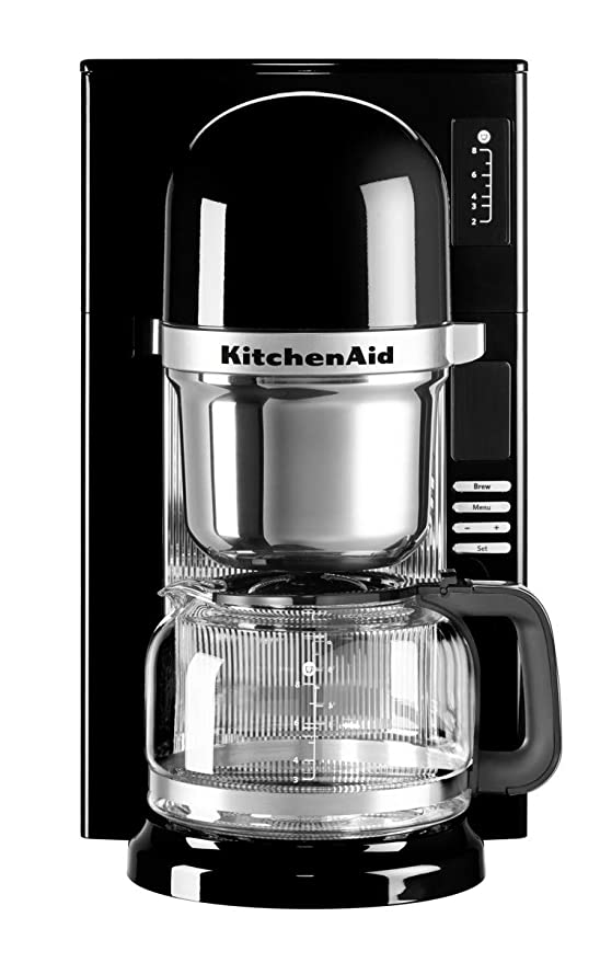 KitchenAid 5KCM0802EOB - Cafetera (Independiente, Espresso machine ...
