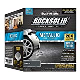 Rust-Oleum RockSolid Gunmetal Metallic Garage Floor Kit