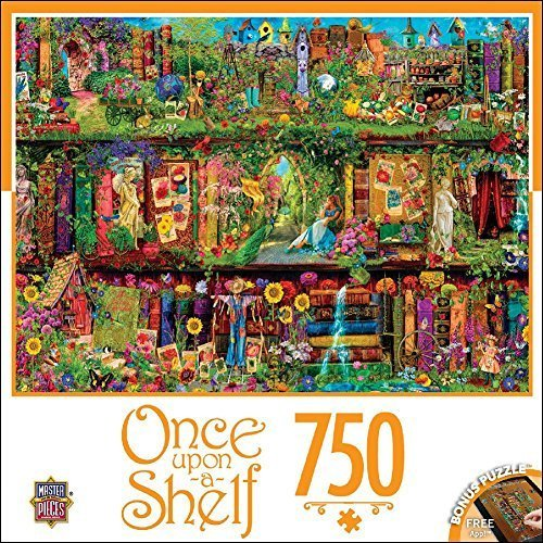 MasterPieces Once Upon a Shelf Collection Mystical Garden Puzzle (750 Piece) by MasterPieces
