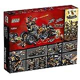LEGO NINJAGO Masters of Spinjitzu: Dieselnaut 70654 Ninja Warrior Toy and Playset, Fun Building Kit with Brick Battle Tank Vehicle