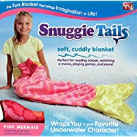 Snuggie Tails for Kids, Pink Mermaid - The Funnest and...