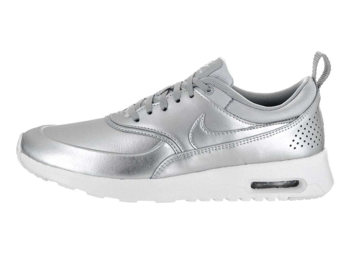 NIKE Women's Air Max Thea SE Running US|Silver Shoe B01MDLY8IE 7.5 B(M) US|Silver Running 91e0cc