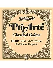 D'Addario J4604C Pro-Arte Nylon Classical Guitar Single String, Hard Tension, Fourth String